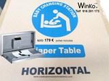 Cambiador para bebés horizontal aseos - foto
