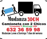 Camion +chofer+2 oeprarios=30 /h - foto