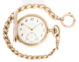reloj de oro de cuerda manual - foto