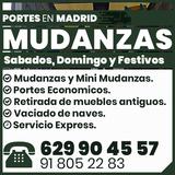 Mudanzas portes economicos en Madrid - foto