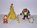 Lote 5 Figuritas BELLA y BESTIA - foto