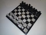 ajedrez de marmol decorativo - foto