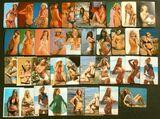 LOTE 39 CALENDARIOS BOLSILLO (1973-77)