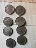 5 pesetas 1957 Con errores de acuñación - foto