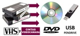 VHS o Cinta Videocámara a DVD/PenDrive - foto