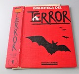 TAPA DE BIBLIOTECA DEL TERROR.  TOMO 1,  - foto