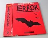 TAPA DE BIBLIOTECA DEL TERROR.  TOMO 3,  - foto