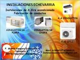 Instalacion-fabricacion de conductos - foto