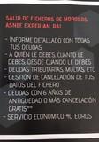 SALIR DE FICHERO ASNEF-EXPERIAN.  50 EURO - foto