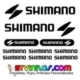 vinilo shimano bicicleta cuadro sticker - foto