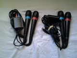 2 micros singstar para ps3 y ps2 ascao - foto