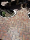 barro terracota ladrillos y losas - foto