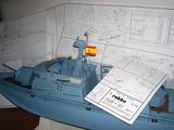 Maqueta navegable  SAR - 33 - foto