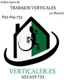 Trabajos verticales en Madrid - foto