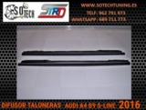 DIFUSOR  TALONERAS AUDI A4 B9 S-LINE - foto