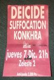 Entrada antigua de Suffocation 1995 - foto