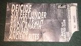 Entrada antigua Deicide/S.F.Under 1998 - foto