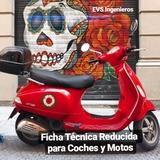 FICHA REDUCIDA MOTO - foto