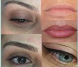 Micropigmentación de cejas, ojos, labios - foto
