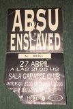 Entrada antigua Absu/Enslaved 1996 - foto