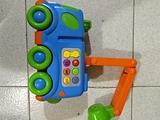Juguete Camión grúa con botones 1-5 años - foto
