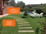 Diseños mantenimientos de jardines Jaén - foto