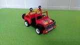 Antiguo jeep motos playmobil - foto