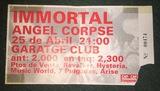 Entrada antigua de Immortal de 1998 - foto