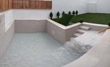 Agua potable y llenado de piscina - foto