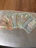 billetes árabes - foto