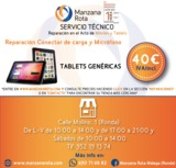 REPARACIÓN CONECTOR DE CARGA TABLET - foto