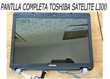 Toshiba satelite l300-pantalla completa - foto