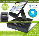 PACK TPV Táctil + Software Sysme y Win10 - foto
