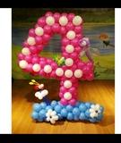 Decoraciones con globos para fiestas - foto