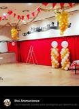 Decoracion sala de fiestas - foto