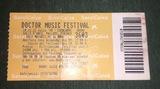 Entrada Doctor Music Festival 1998 - foto