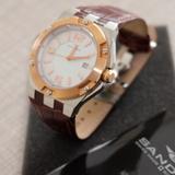 Reloj Sandoz en acero bicolor / zafiro - foto