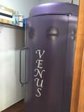 Maquina rayos uva, bronceado - foto