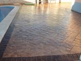 Pavimento de hormigon impreso burgos - foto