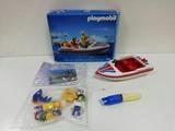 Playmobil lancha recreo 11 92-almacen - foto