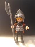 Playmobil  medieval casco abatible arma - foto
