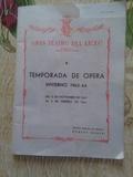 Temporada Opera.Liceo de Barcelona. 1963 - foto