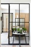Puertas de cristal y particiones interio - foto