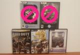 Vendo lote juegos pc guerra - foto