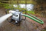 Achique y bombeo de agua - foto