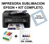 Impresora sublimación Epson, kit. - foto
