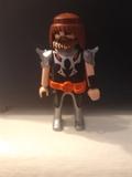 Playmobil medieval soldado  barba - foto