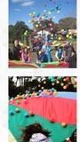 Parachute, espectaculos, espuma - foto