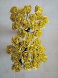Rosas de goma eva - foto
