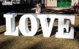 Mesa LOVE para boda en asturias - foto